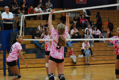 Oswego East Vs Oswego  (Volley for the Cure) 011