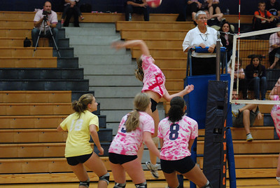 Oswego East Vs Oswego  (Volley for the Cure) 041