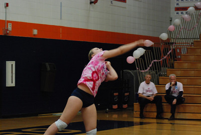 Oswego East Vs Oswego  (Volley for the Cure) 130