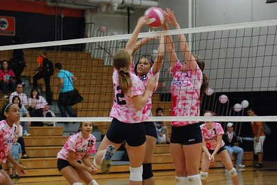 Oswego East Vs Oswego  (Volley for the Cure) 012
