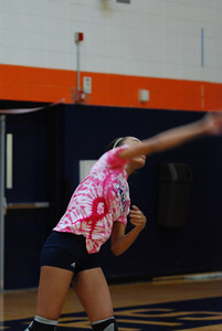 Oswego East Vs Oswego  (Volley for the Cure) 048