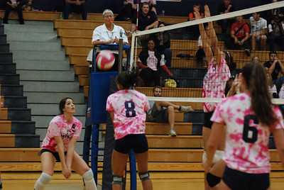 Oswego East Vs Oswego  (Volley for the Cure) 086