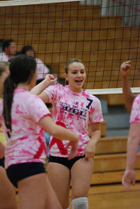Oswego East Vs Oswego  (Volley for the Cure) 018