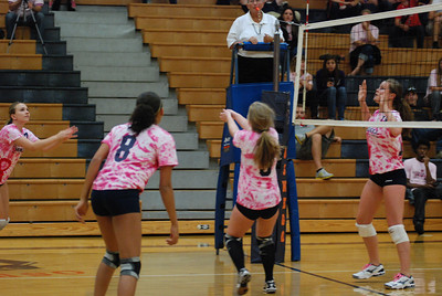 Oswego East Vs Oswego  (Volley for the Cure) 040