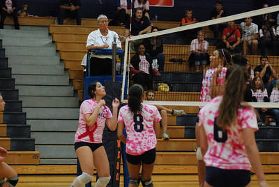 Oswego East Vs Oswego  (Volley for the Cure) 087