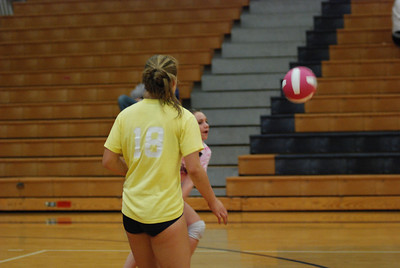 Oswego East Vs Oswego  (Volley for the Cure) 082