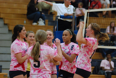 Oswego East Vs Oswego  (Volley for the Cure) 032