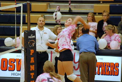 Oswego East Vs Oswego  (Volley for the Cure) 003