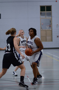 OE girls basketball Vs Kaneland 185