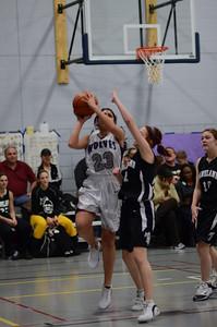 OE girls basketball Vs Kaneland 209