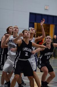 OE girls basketball Vs Kaneland 216