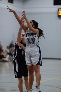 OE girls basketball Vs Kaneland 215