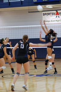 Oswego East Vs  Plainfield So  Volleyball (2011) 245