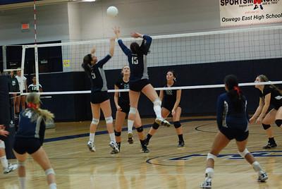 Oswego East Girls Volleyball Vs Plainfield Central 1019