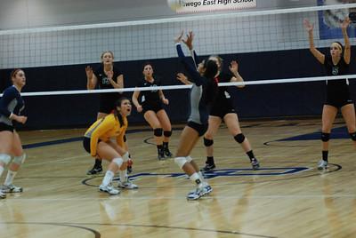 Oswego East Girls Volleyball Vs Plainfield Central 1021