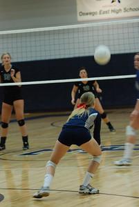 Oswego East Girls Volleyball Vs Plainfield Central 1033
