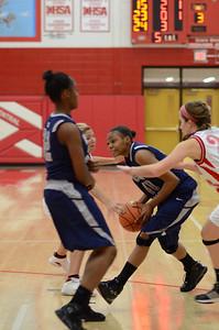 OE  girls basketball Vs Naperville Central 347