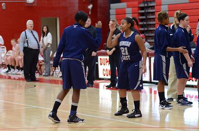 OE  girls basketball Vs Naperville Central 282