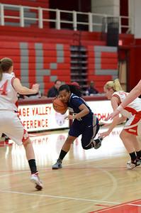 OE  girls basketball Vs Naperville Central 323