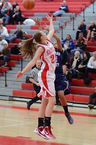 OE  girls basketball Vs Naperville Central 300