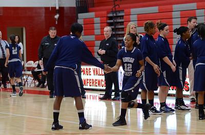 OE  girls basketball Vs Naperville Central 277