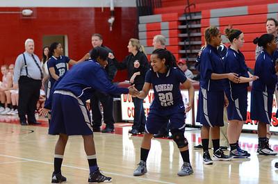 OE  girls basketball Vs Naperville Central 280