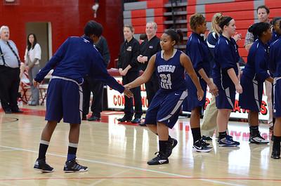OE  girls basketball Vs Naperville Central 281
