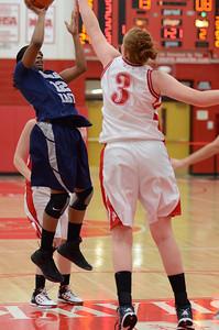 OE  girls basketball Vs Naperville Central 311