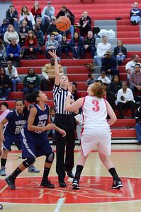 OE  girls basketball Vs Naperville Central 288