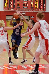 OE  girls basketball Vs Naperville Central 309