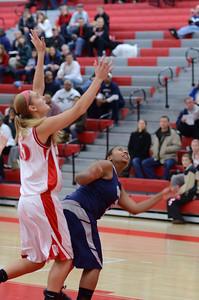 OE  girls basketball Vs Naperville Central 295