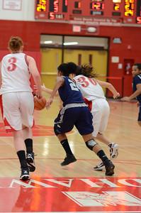 OE  girls basketball Vs Naperville Central 312