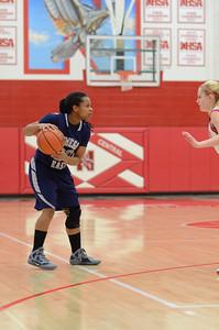 OE  girls basketball Vs Naperville Central 303