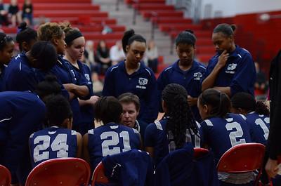 OE  girls basketball Vs Naperville Central 287