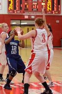 OE  girls basketball Vs Naperville Central 310