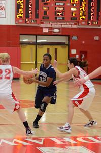 OE  girls basketball Vs Naperville Central 308