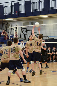 Oswego East boys volleyball(Volley for the troops) 2012 019