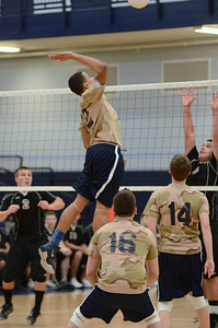 Oswego East boys volleyball(Volley for the troops) 2012 022