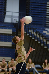 Oswego East boys volleyball(Volley for the troops) 2012 013