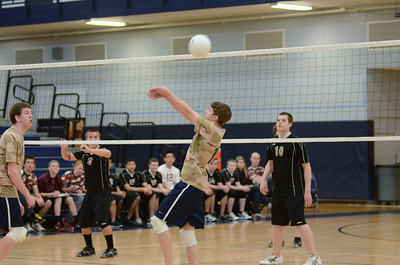 Oswego East boys volleyball(Volley for the troops) 2012 035