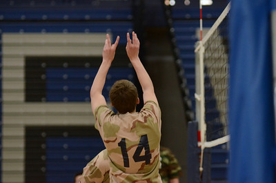 Oswego East boys volleyball(Volley for the troops) 2012 005