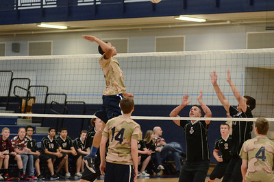 Oswego East boys volleyball(Volley for the troops) 2012 011