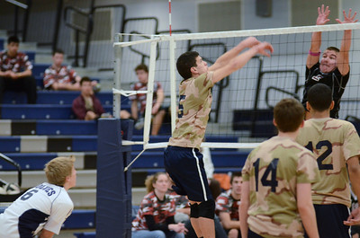 Oswego East boys volleyball(Volley for the troops) 2012 015