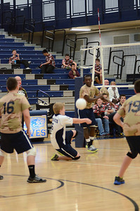 Oswego East boys volleyball(Volley for the troops) 2012 018