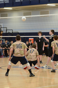 Oswego East boys volleyball(Volley for the troops) 2012 029