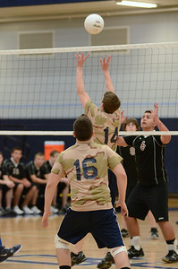 Oswego East boys volleyball(Volley for the troops) 2012 021