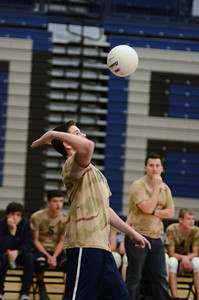 Oswego East boys volleyball(Volley for the troops) 2012 017