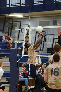 Oswego East boys volleyball(Volley for the troops) 2012 020