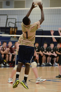 Oswego East boys volleyball(Volley for the troops) 2012 006