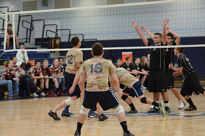 Oswego East boys volleyball(Volley for the troops) 2012 014